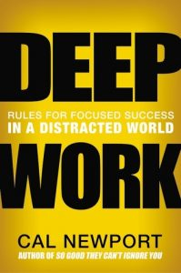 deep work--newport