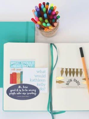reading journal kit