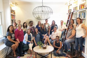 Book-Club-Retreat-crew-in-library